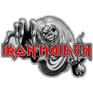 Iron Maiden Official Number of the Beast Metal Enamel Pin Badge Rock Album Logo