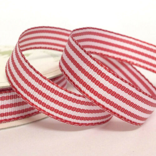 lilac /& rose blue Three Kings Candy Stripe Ribbon 10 mm x 5 metres red