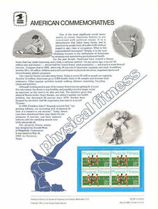 187-20c-Physical-Fitness-2043-USPS-Commemorative-Stamp-Panel