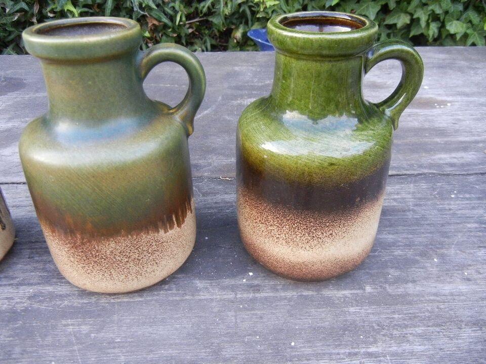 RETRO - keramik - W.Germany, 4 udgaver af model 414-16