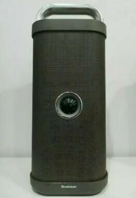 Brookstone Big Blue Party Indoor-Outdoor Bluetooth Speaker --RARE MINT  Condition