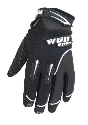 Wulfsport Handschuhe Stratos L schwarz Moto Cross MX SX BMX Enduro Motorrad Quad