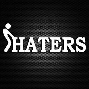 I-Love-Haters-Funny-Car-Window-Bumper-Drift-JDM-Dub-Vinyl-Decal-Sticker