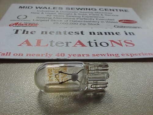empuje Hermano 12 voltios 5 vatios XA2037051 bulbo de la máquina de coser doméstica