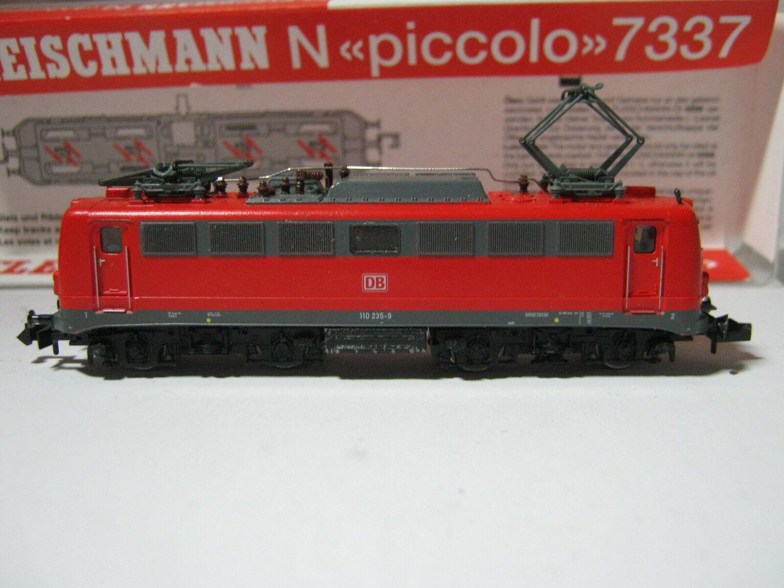 Fleischmann N 7337 Elektro Lok BtrNr 110 235-9 DB (RG (RG (RG AT 71S5)  | Elegant Und Würdevoll  7b9329