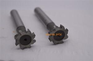 1pc 25×3×12×90 T-type milling cutter 25mm×3mm 8Flute End Mill Cutter CNC HSSAL