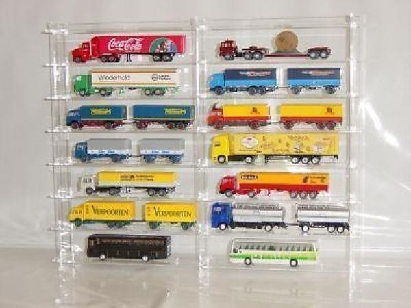 Sammelvitrine aus Acrylglas für Wiking Trucks SL008