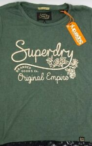 Superdry-Womens-Tee-Original-Empire-Size-Small-RRP-129