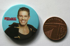 FAST FORWARD Old Vtg 80/90`s Button Pin Badge 32mm TV series comedy show