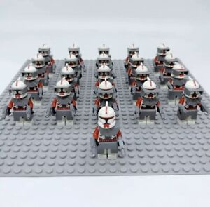 21x-Red-Arc-Squad-Clone-Troopers-Mini-Figures-LEGO-STAR-WARS-Compatible