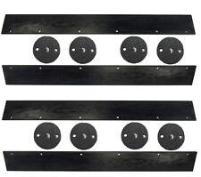 Wacker Neuson Vibratory Roller Rd11a Scraper Set With Mounts 2 Drum Set 183039