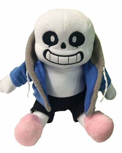 "Undertale Sans Plush Stuffed Doll 12/""Toy Hugger Game Cosplay Cushion Gift Pillow"