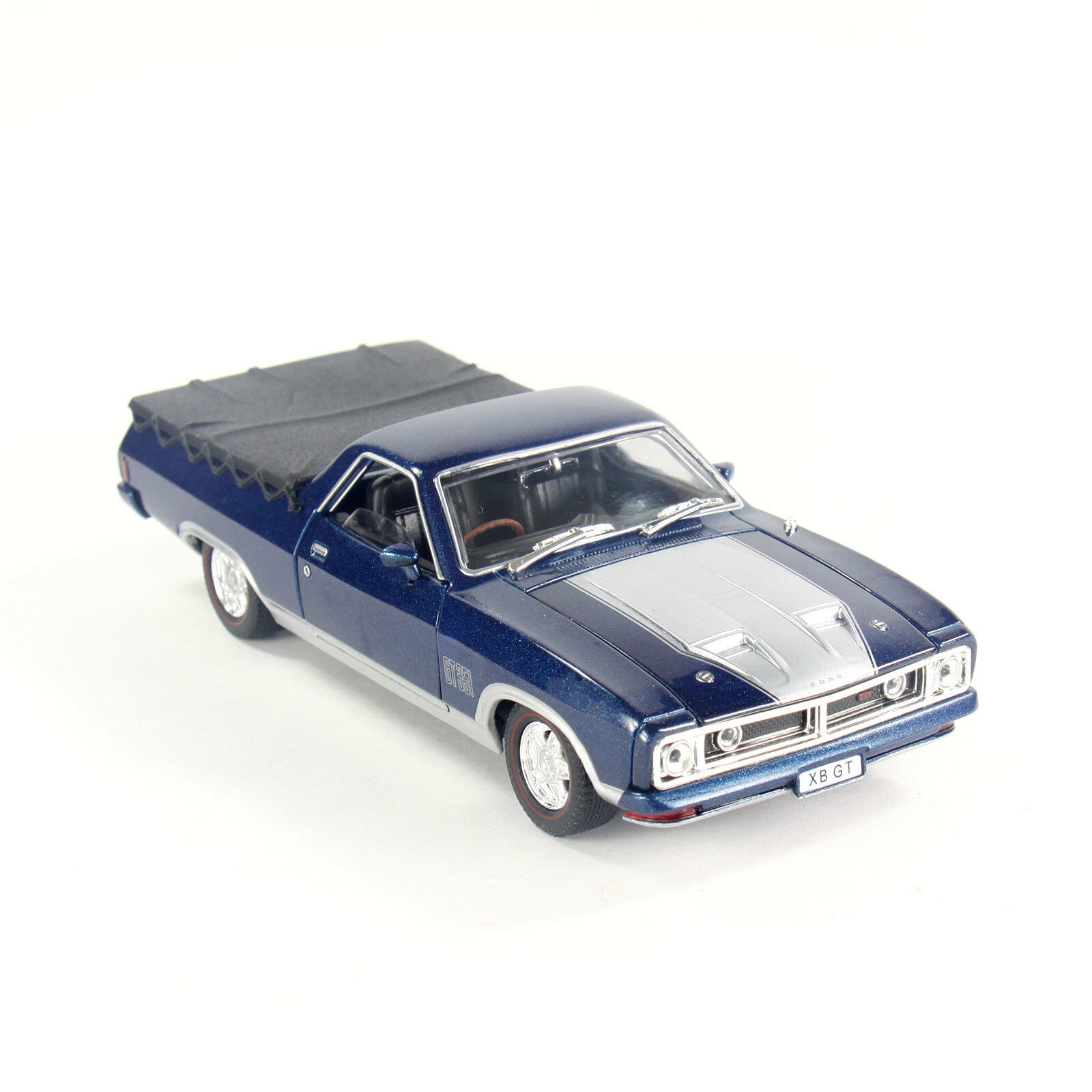 Ford Falcon XB GT 351 Ute 1 32 Scale Aussie Classic Diecast bluee Model Car