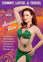 Shimmy, Layer, & Travel With Amanda Rose - Bellydance Drills (new 2015 Release)