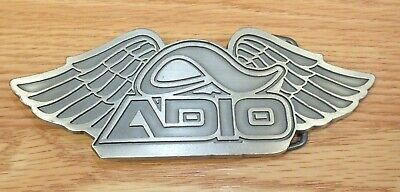 "Awesome Emerica Skateboarding Metal Belt Buckle Gold Logo NIP 4""x2.5"" Shiny C@@L"