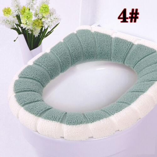 Warmer Soft Bathroom Toilet Seat Closestool Washable Winter Mat Cover Pad Home