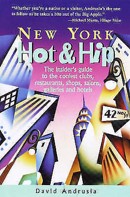 New York Hot and Hip by David Andrusia (Hardback, 1998)
