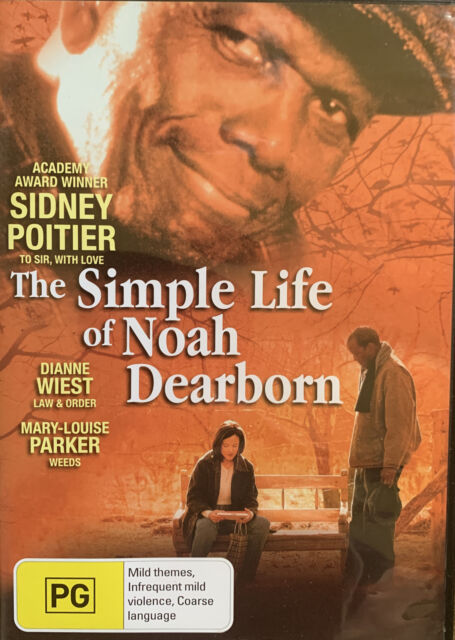 DVD - The Simple Life Of Noah Dearborn - Academy Award Winner Sidney Poitier