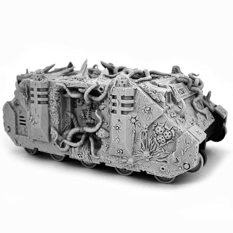 1x Chaos redton Transport Conversion - Wargame Exclusive [can be Nurgle Rhino]