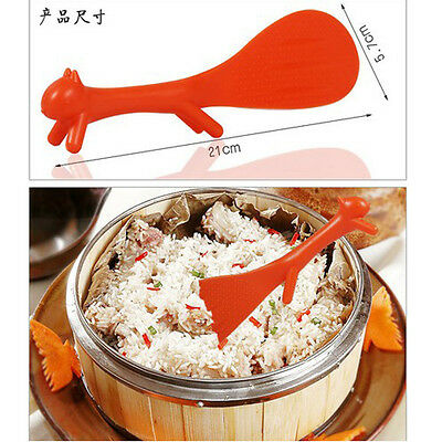 Utility Creative Kitchen Squirrel No Sticky Table Rice Paddle Scoop Spoon Ladle