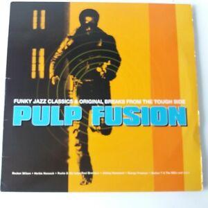 VA: Pulp Fusion Funky Jazz Classics Breaks - Vinyl Triple LP 1st Press