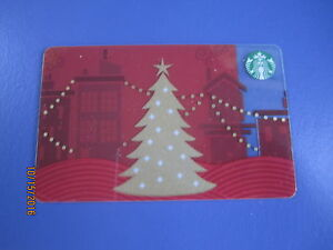 Starbucks-034-Holiday-Tree-2013-034-Gift-Card-Canada-Series-No-Value-New-unused