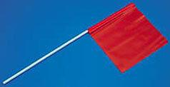 SPORTS SOCCER BASEBALL BASKETBALL FOOTBALL PARTY 3' MARKER FLAG ORANGE