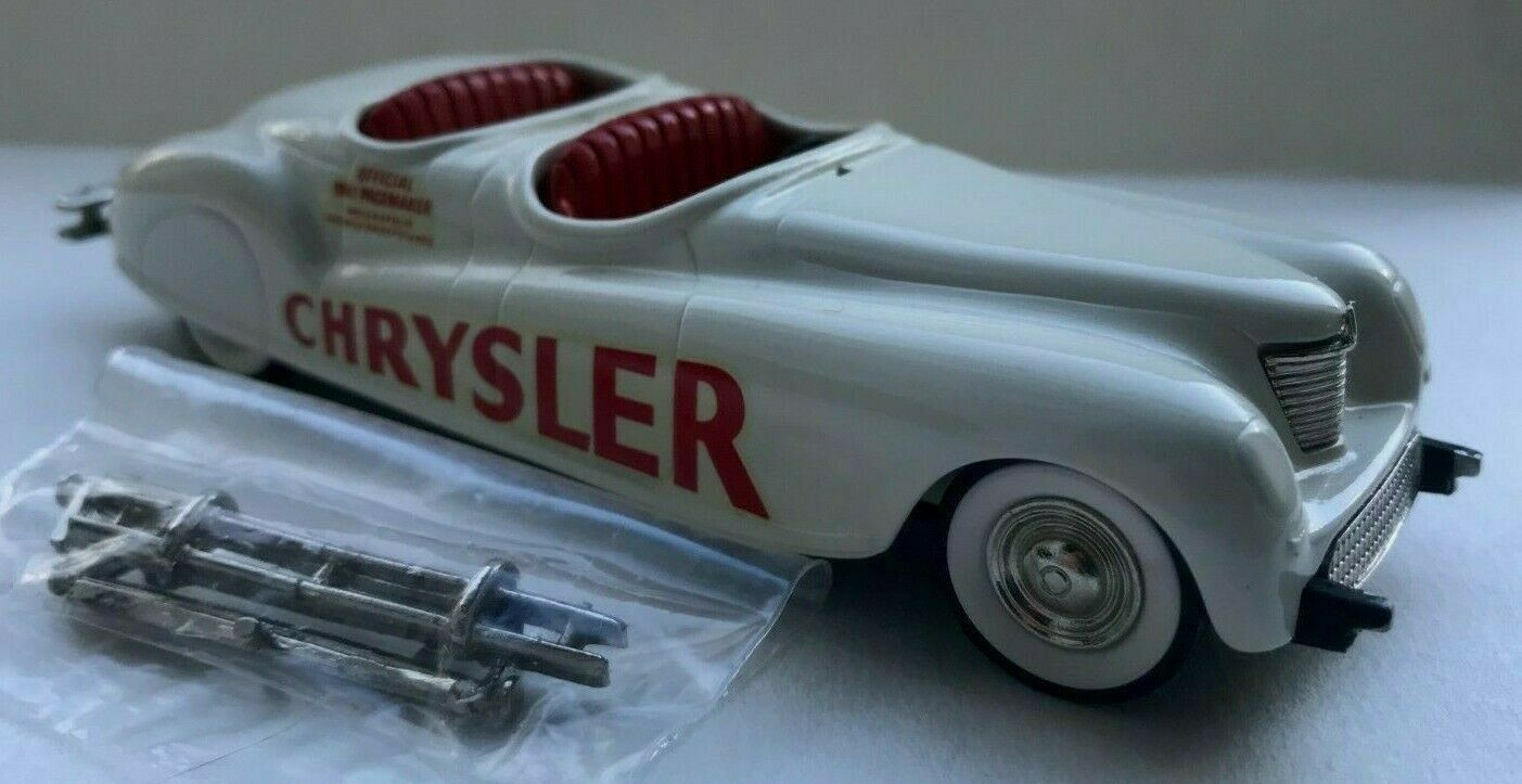 Rare BROOKLIN MODELS 1.43 1941 CHRYSLER NEWPORT INDIANAPOLIS PACE CAR BRK 8A
