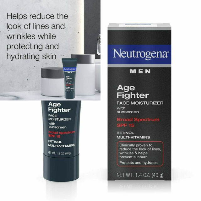 Neutrogena Age Fighter Anti-Wrinkle Retinol Moisturizer for Men