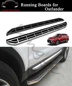 Fits for Mitsubishi Outlander 2013-2019 Running Boards Side Step Nerf Bar