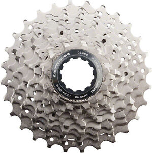 SHIMANO-ULTEGRA-6800-11-SPEED-NICKEL-PLATED-11-28T-ROAD-BICYCLE-CASSETTE