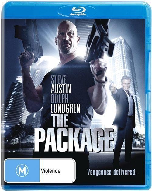 Package BLU RAY Steve Austin Dolph Lundgren Action Movie - REGION B AUSTRALIA
