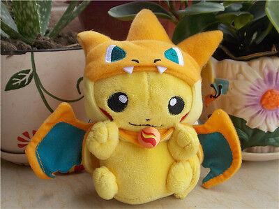 "Pokemon Pikazard 6/"" BRAND NEW 15cm Plush Soft Toy Teddy"