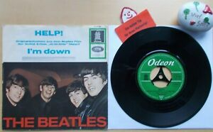 THE-BEATLES-Help-I-m-Down-Odeon-O-23-023