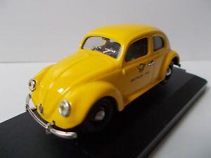 Vitesse-VW-Cox-Coccinelle-Poste-Allemande-ech-1-43-en-boite-vitrine
