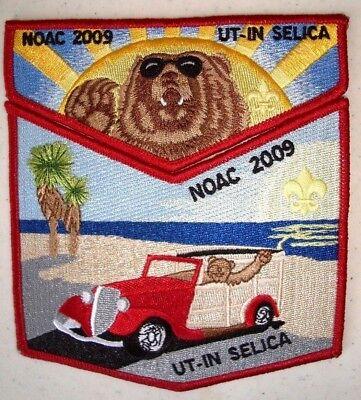 MINT OA Flap Lodge 58 Ut-In Selica Red Ghost 2000 NOAC