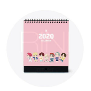 BTS-Official-MD-CHARACTER-2020-CALENDAR-18-X-22-5cm-Tracking-Code