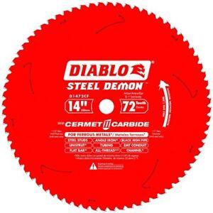 Diablo-D1472CF-14-inch-Steel-Demon-72T-Cermet-II-Carbide-Ferrous-Metal-Saw-Blade