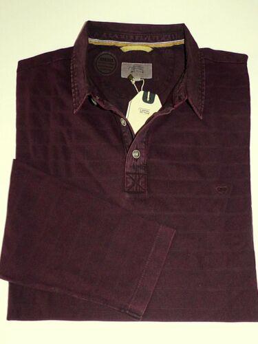 CAMEL ACTIVE Herren Polo Shirt Langarm Übergröße 5XL NEU UVP 89,95