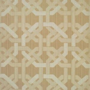 Awesome-Strie-Jacquard-Clarence-House-Upholstery-Fabric-R-252yd-Hampton-CL-Sand