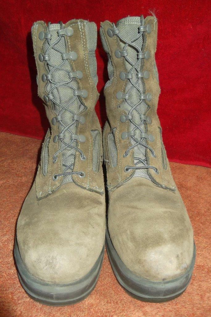 Military Boots Sage 11 Reg Female USAF Sage Boots Flight Wellco Cold Weather Work Hunt  #18 85bdef
