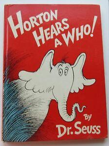 horton hears who by dr seuss hc dj 1954 1st edition ebay