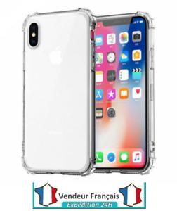 Antichoc Coque Etui Silicone iPhone XS Max XR X 8 Plus 7 Plus 6 s 11 Pro 12 Neuf