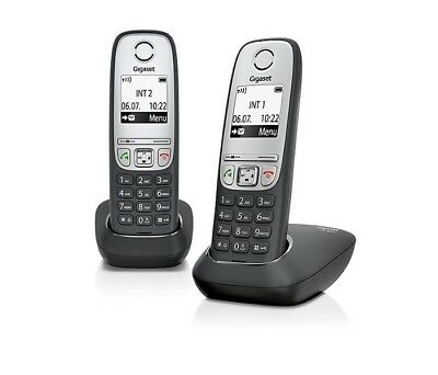 Siemens Gigaset A415 Duo Dect Cordless Home Phone Landline System Genuine New Ebay