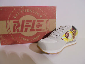 Sneakers-Donna-Rifle-Sconto-50-Art-161-W-100-Running-Col-Bianco