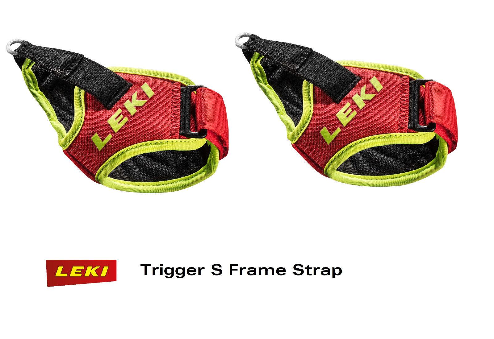 Leki frame Strap trabillas para Alpin ski palos disparador disparador disparador S - 1 par-racing rojo f88a04