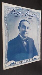 Revista Semanal Dibujada París Que Canta N º 184 Julio 1906 ABE