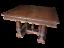 Tavolo-in-noce-allungabile-in-stile-rinascimento-primi-900-molto-bello miniatura 1