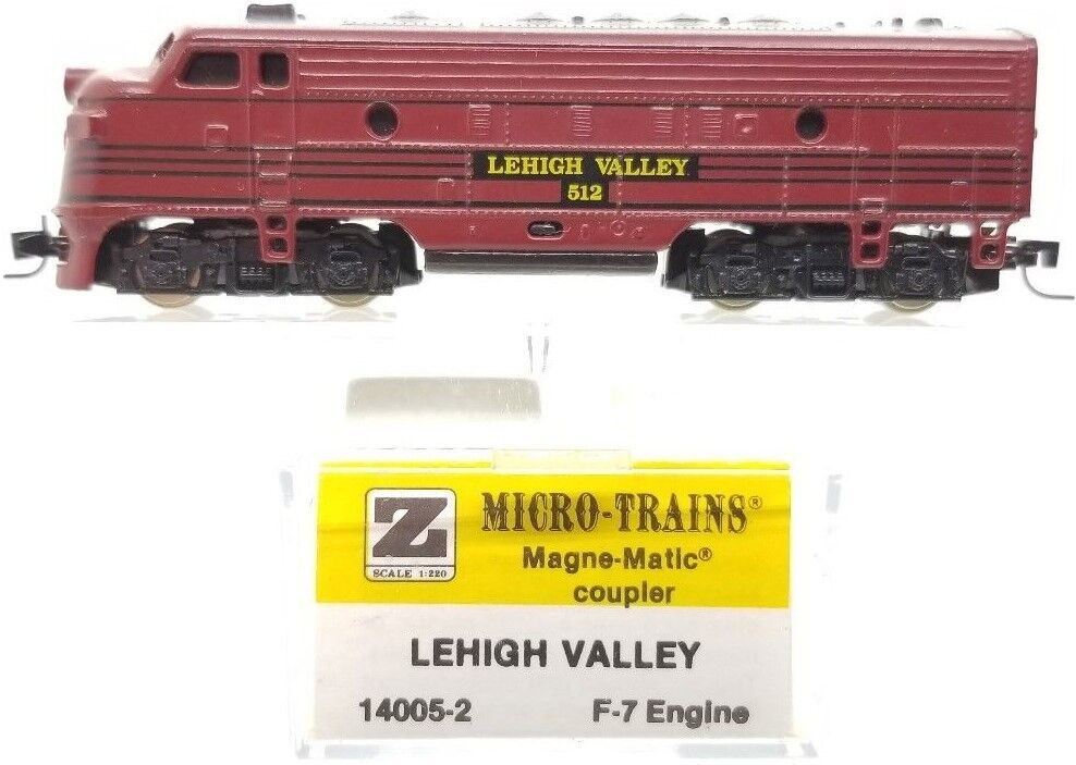 MTL Z 14005-2 F7 Lehigh Valley Powerosso A-Unit Locomotive   512  Tested