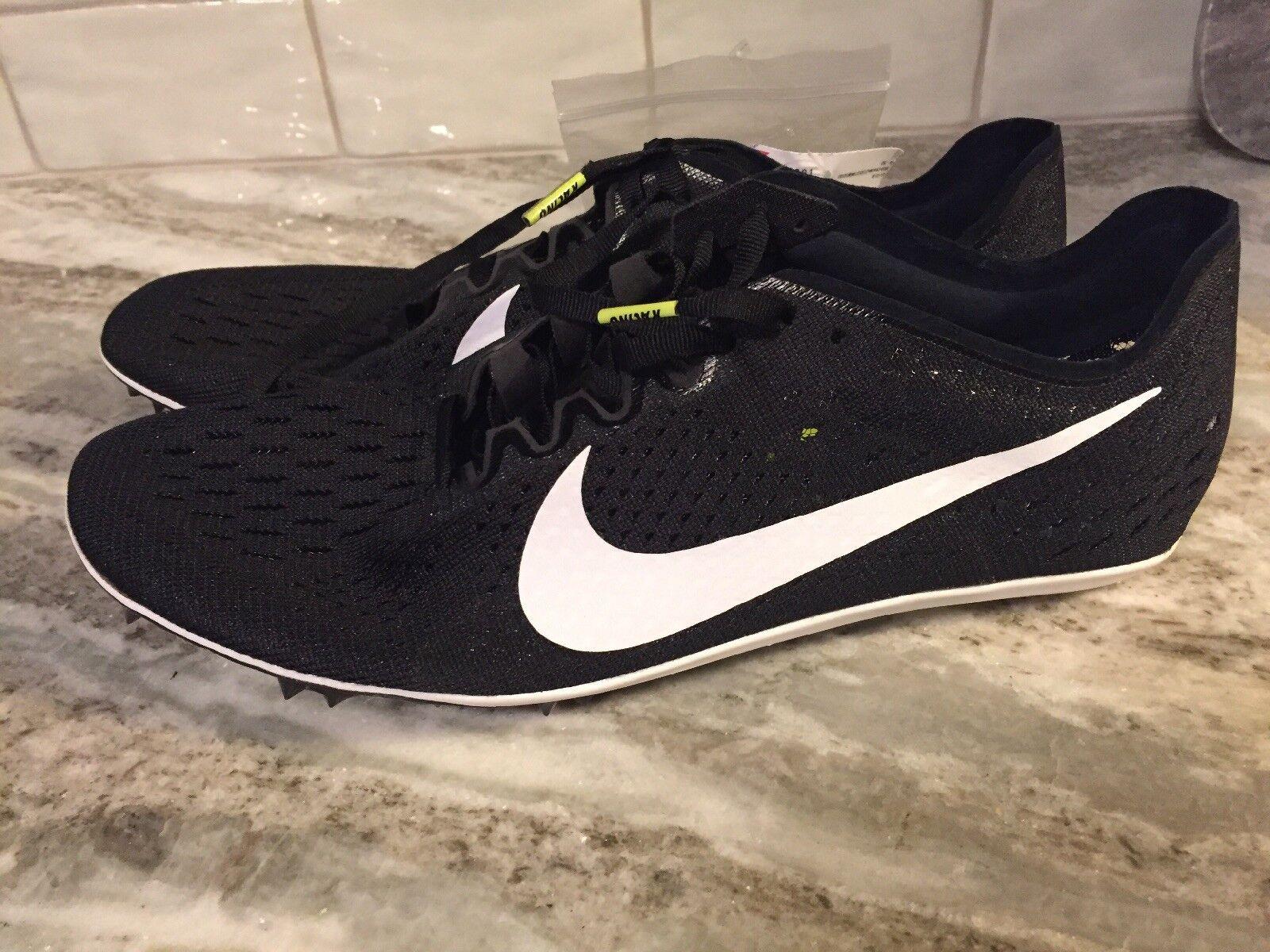 Nike zoom vittoria 3 corse le scarpe nere 835997-017 noi nuovi 12   bianco | Di Alta Qualità Ed Economico  | Scolaro/Ragazze Scarpa